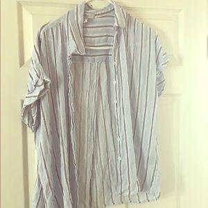 Back open shirt
